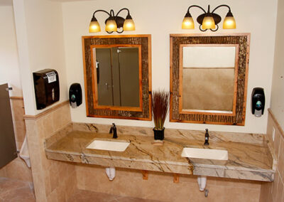 Forge Valley Event Center | Hendersonville, Brevard, Asheville | men's restrooms, bathrooms, facilities